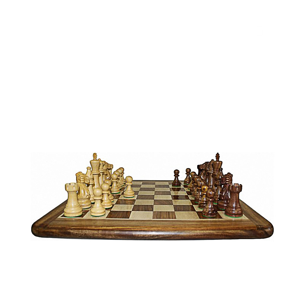 Unique Gift Shop London Hand Carved Wooden Chess Set