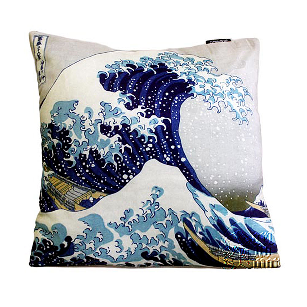 Unique Gift Shop London Art Cushion Covers Hokusai The