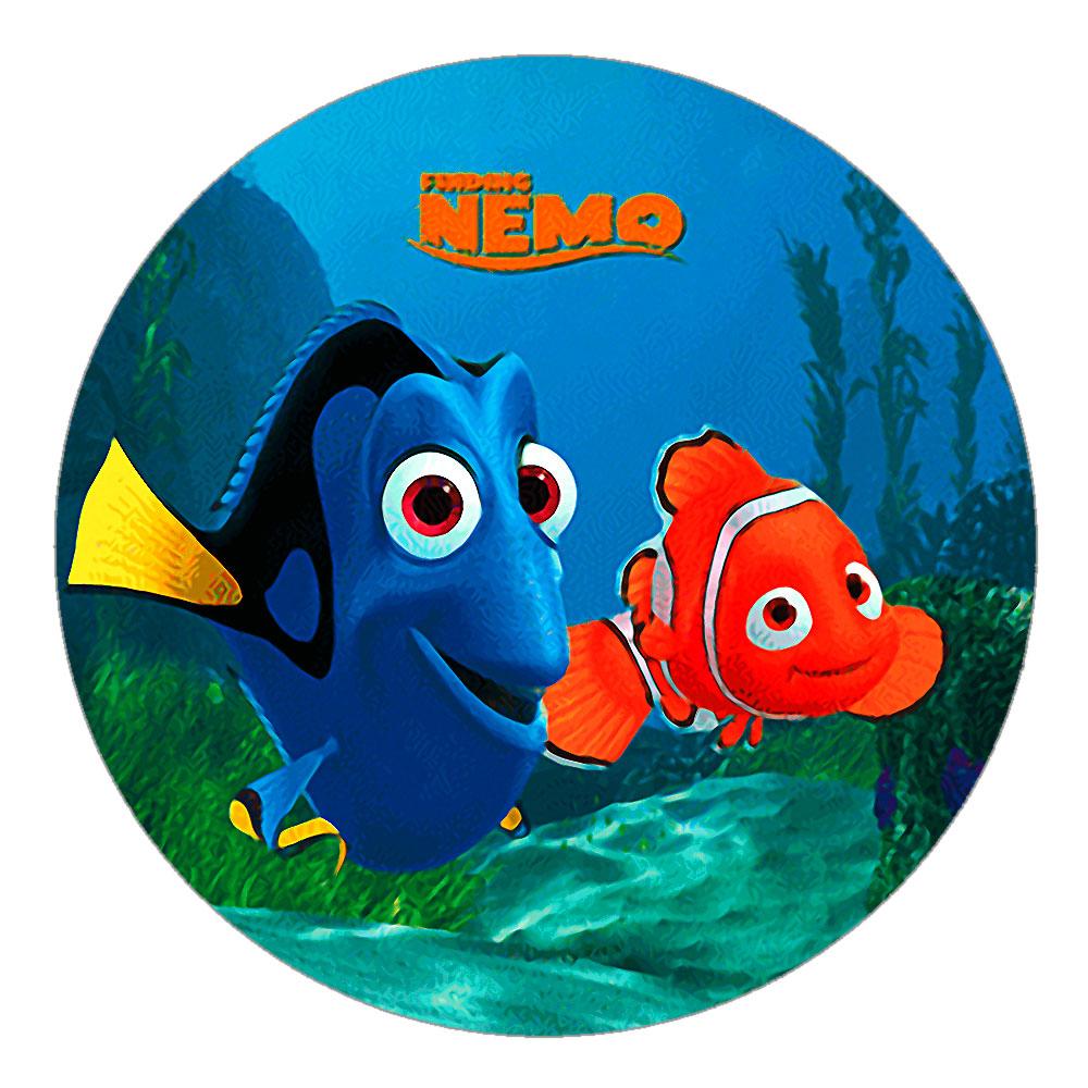 Edible Nemo Cake Toppers